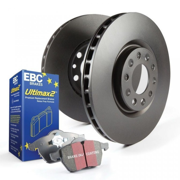 EBC Brake Kit, Ultimax2/Standard Alfa Romeo Giulietta (116) 2.0. Manufacturer product no.: PDKF059