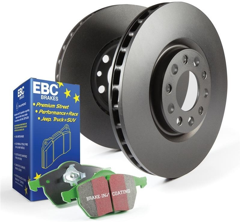 EBC Brake Kit, Greenstuff/Standard Alfa Romeo 33 1.2. Manufacturer product no.: PD01KF009