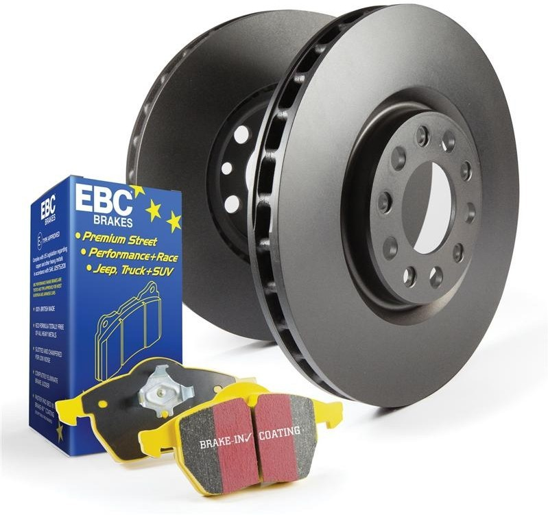 EBC Brake Kit, Yellowstuff/Standard Alfa Romeo Spider 3.0. Manufacturer product no.: PD03KR022