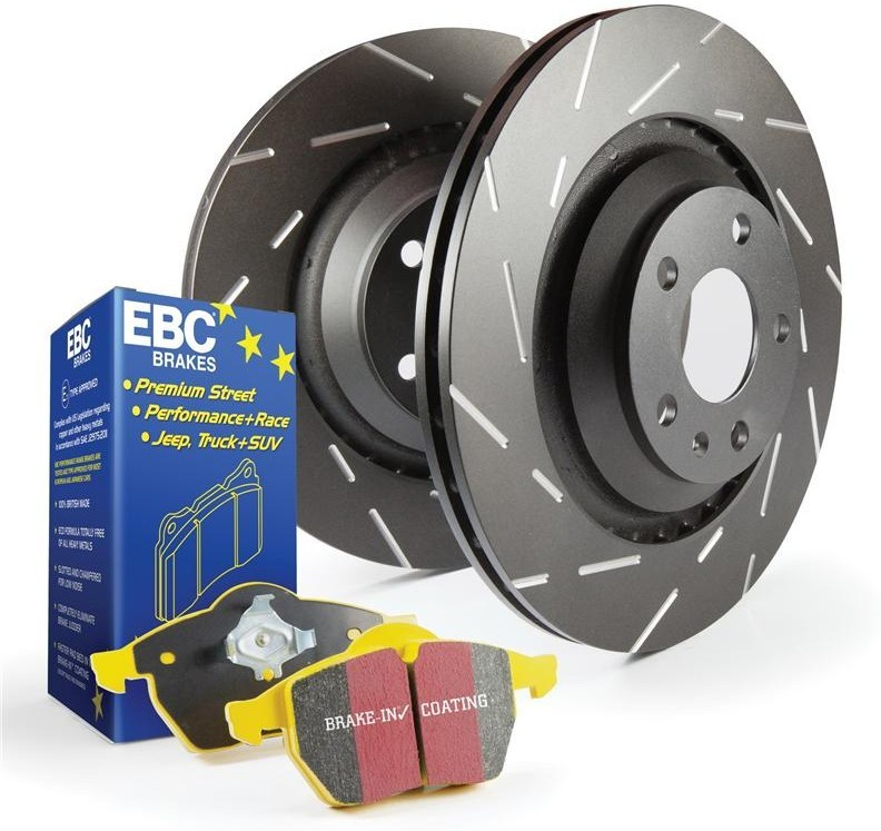 EBC Brake Kit, Yellowstuff/Ultimax Alfa Romeo 156 1.6. Manufacturer product no.: PD08KR006