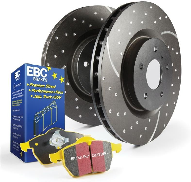 EBC Brake Kit, Yellowstuff/Turbo Groove Alfa Romeo Spider 1.7 5. Manufacturer product no.: PD13KR014