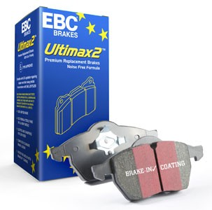 Brake pads EBC Ultimax2. Manufacturer product no.: DPX2176