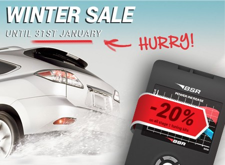 The winter sale is heading toward its end!