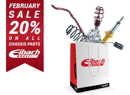 20% on Eibach chassis products