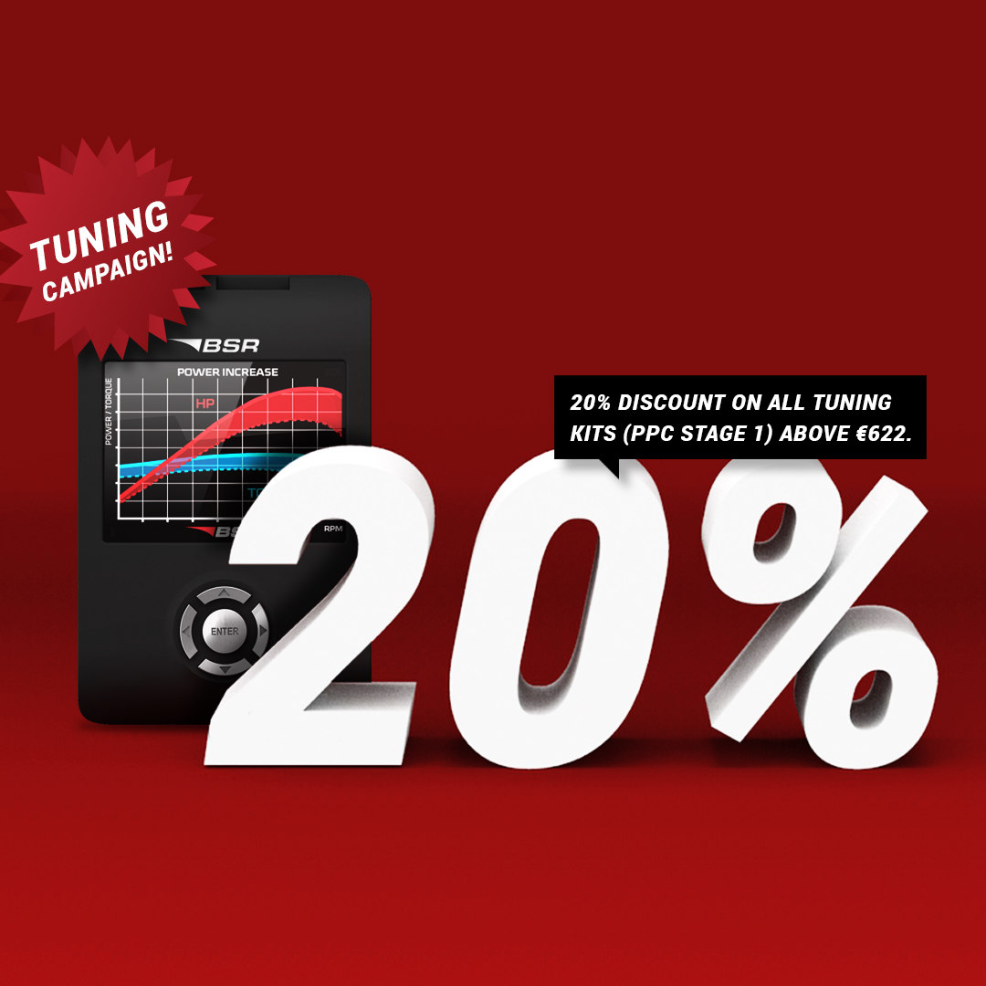 TUNING CAMPAIGN - 20% OFF!