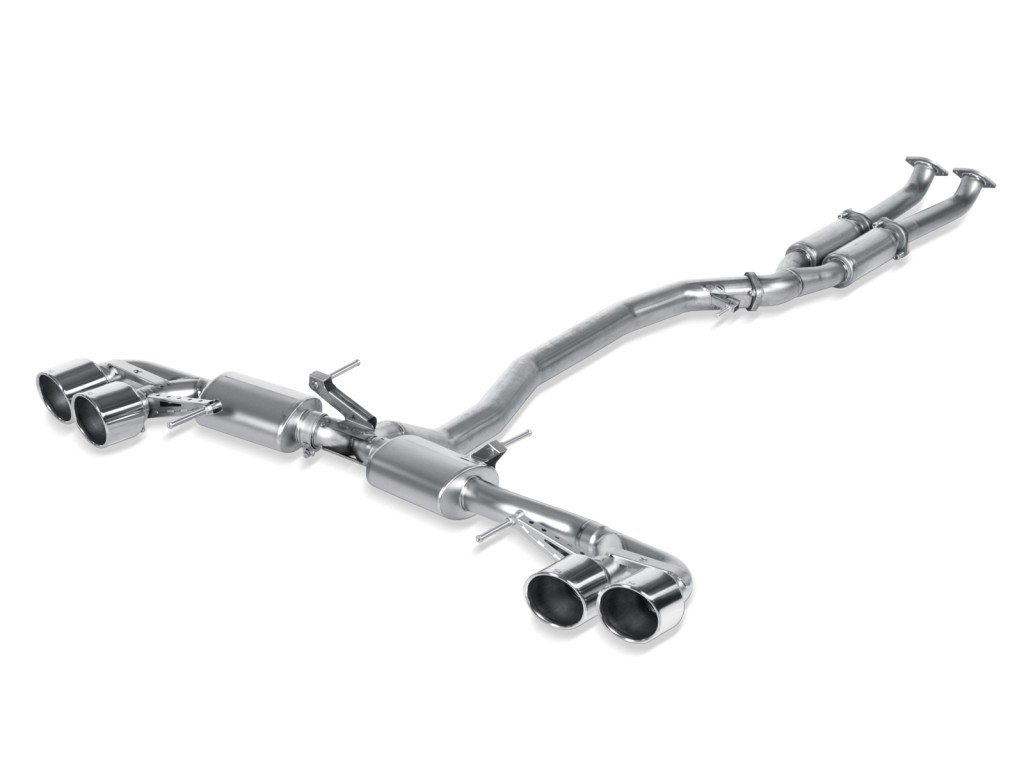 Slip-On Line, Titanium with Titanium tailpipe