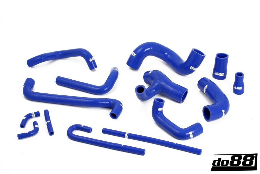 BMW M3 E30 Coolant hoses Blue