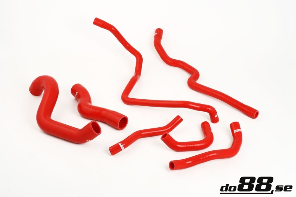 BMW M3 E92 Coolant hoses Red