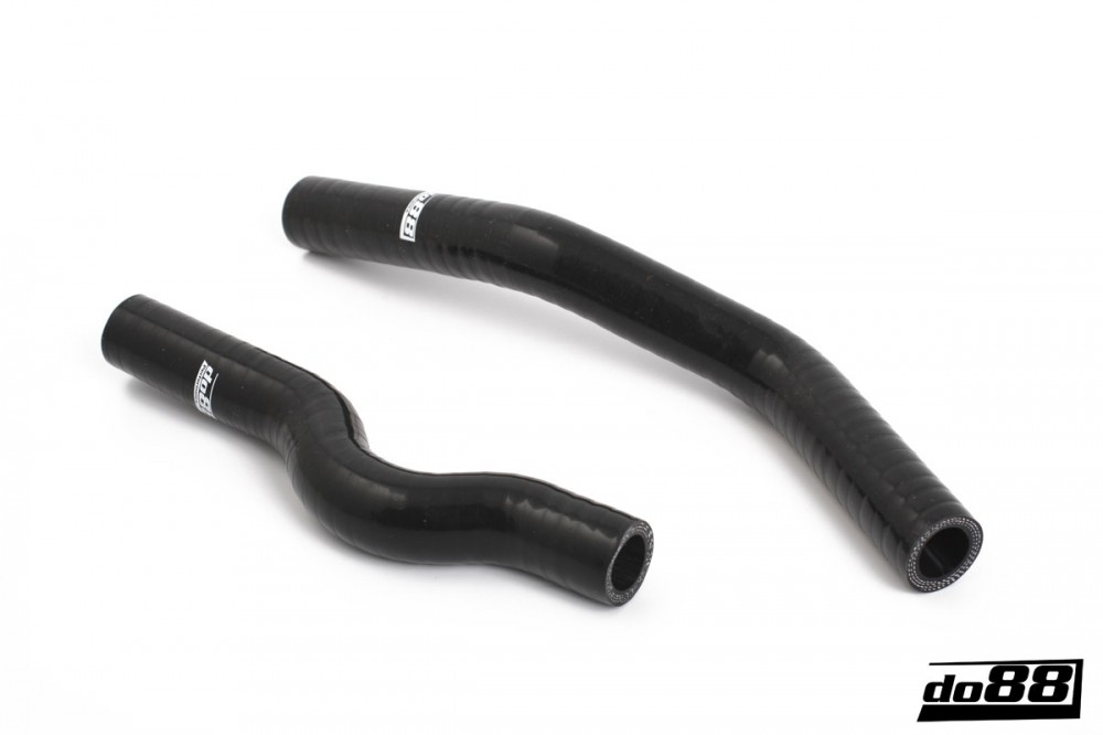 SAAB 9-3 2.0T 2007- Coolant hoses oil cooler Black. Manufacturer product no.: do88-kit153S