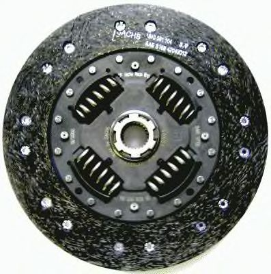 Sachs Clutch Disc, Organic. Manufacturer product no.: 881861 999811