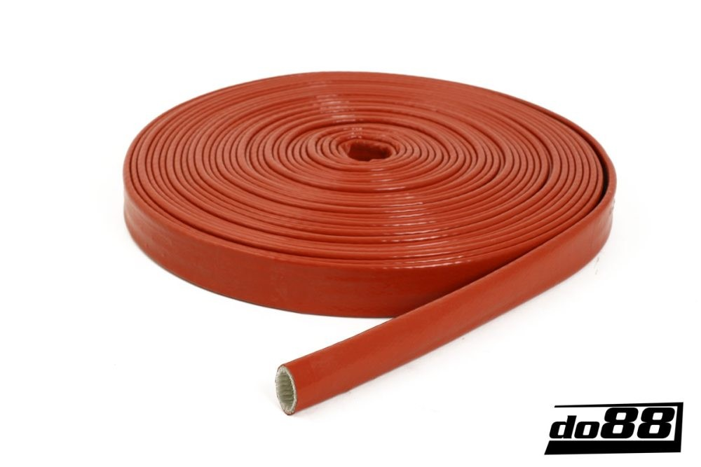 Heat Sleeve Silicone Orange 25mm. Manufacturer product no.: VS-A-25