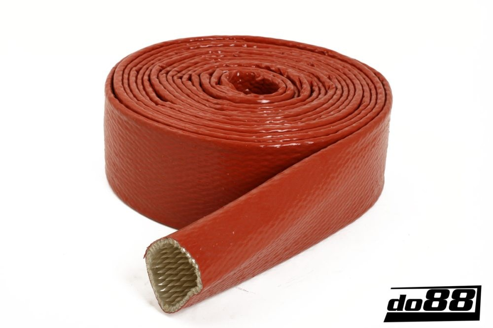 Heat Sleeve Silicone Orange 70mm. Manufacturer product no.: VS-A-70