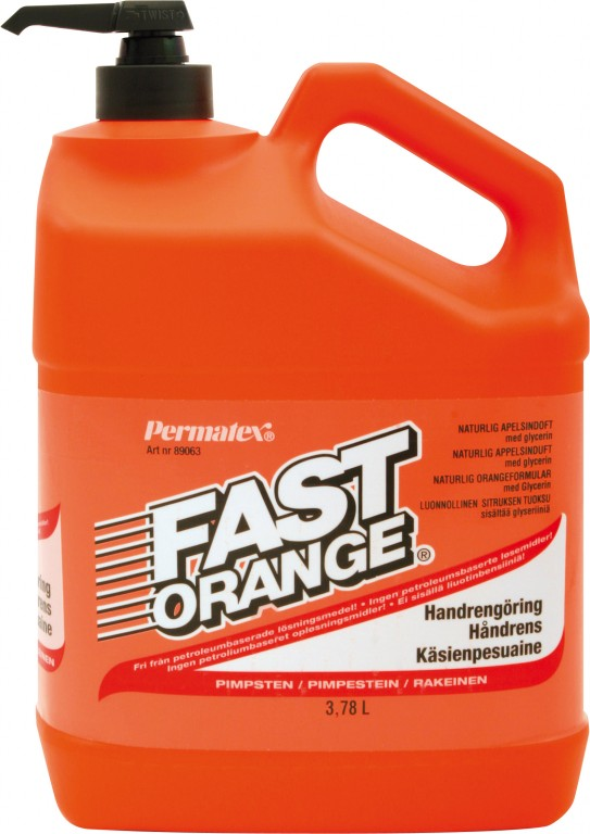 PERMATEX FAST ORANGE HANDCLEANING 3,78L