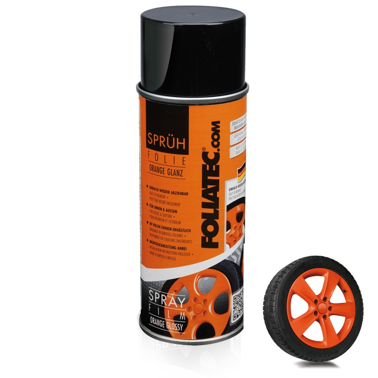 Foliatec Spray Film, orange glossy. Manufacturer product no.: 2056