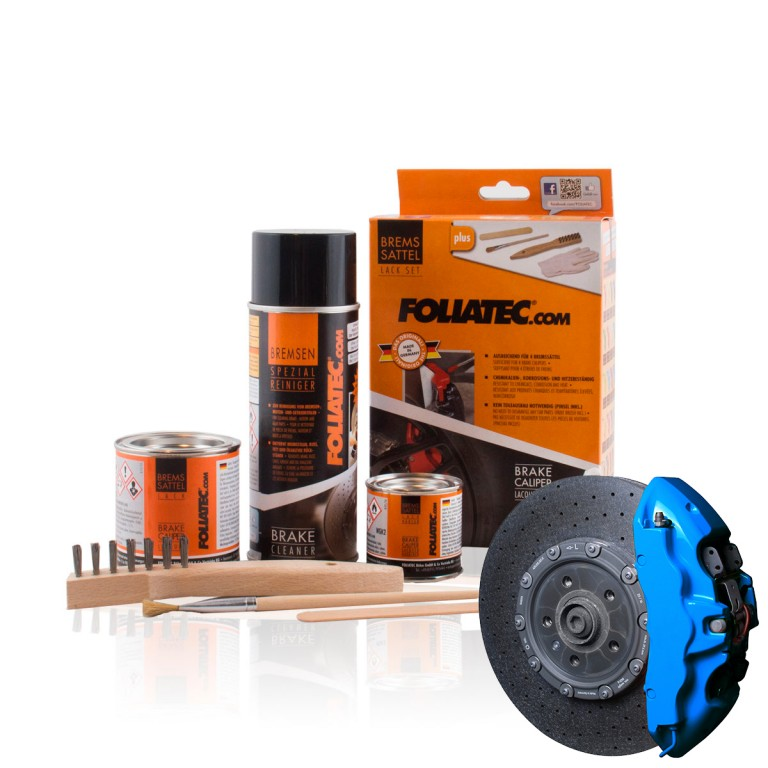 Foliatec Foliatec Brake Caliper Lacquer Set, GT-blue. Manufacturer product no.: 2188