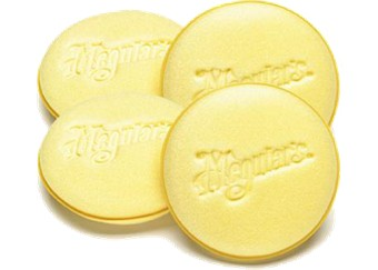 Meguiar's Soft Foam Applictor Pad 4-pack. Manufacturer product no.: W0004