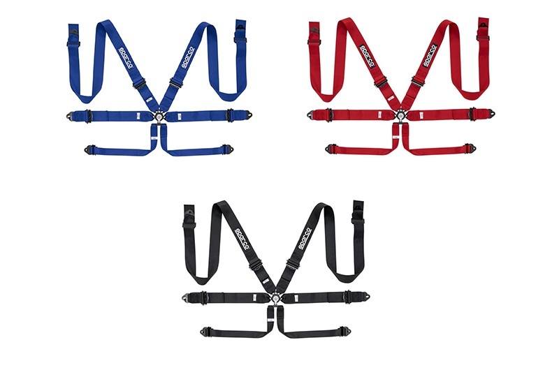 "Sparco 6 Point Harness 3"" Alu. Manufacturer product no.: 04818RAL"