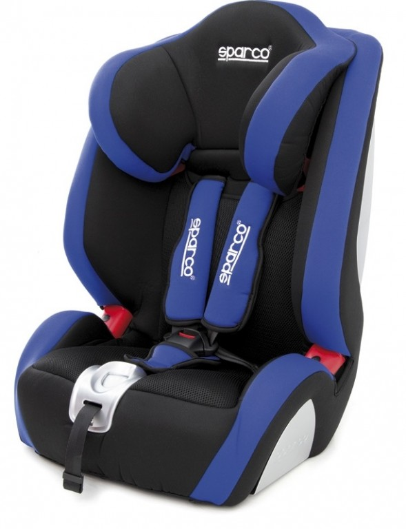 Sparco Kid Seat F1000K Blue