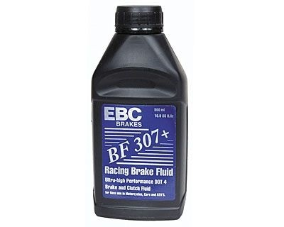 Brake Fluid EBC Racing 307 DOT4 500ml. Manufacturer product no.: BF307