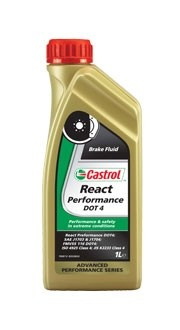 Castrol React Performance DOT 4 1L. Manufacturer product no.: 15A1EC