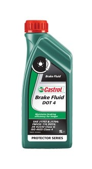 Castrol Brake fluid DOT4 1L. Manufacturer product no.: 15036B-EU