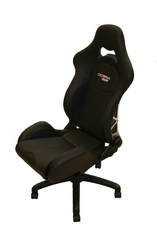BSR / Cobra Leather office racing chair. Manufacturer product no.: 800574