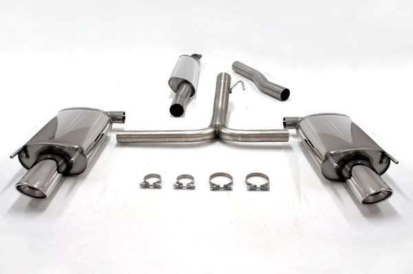 exhaust system from simons for opel insignia 2.0t | bsr