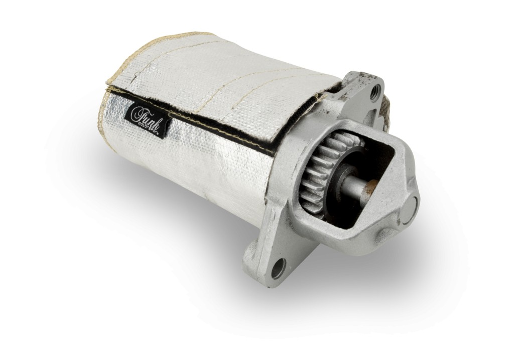 Starter Motor Protection durability cover. Manufacturer product no.: FUNK-STRTCV