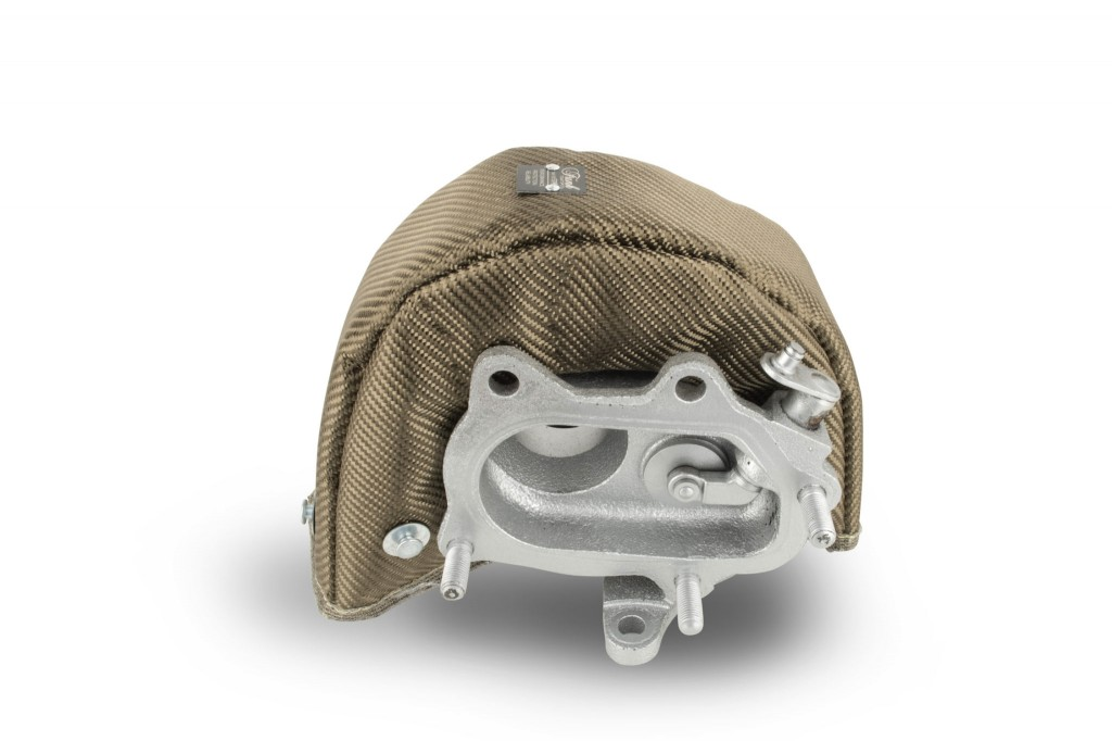 Funk Motorsport Modified T25/T28 Turbo Blanket - Titanium. Manufacturer product no.: FUNK-TBT25M-TI