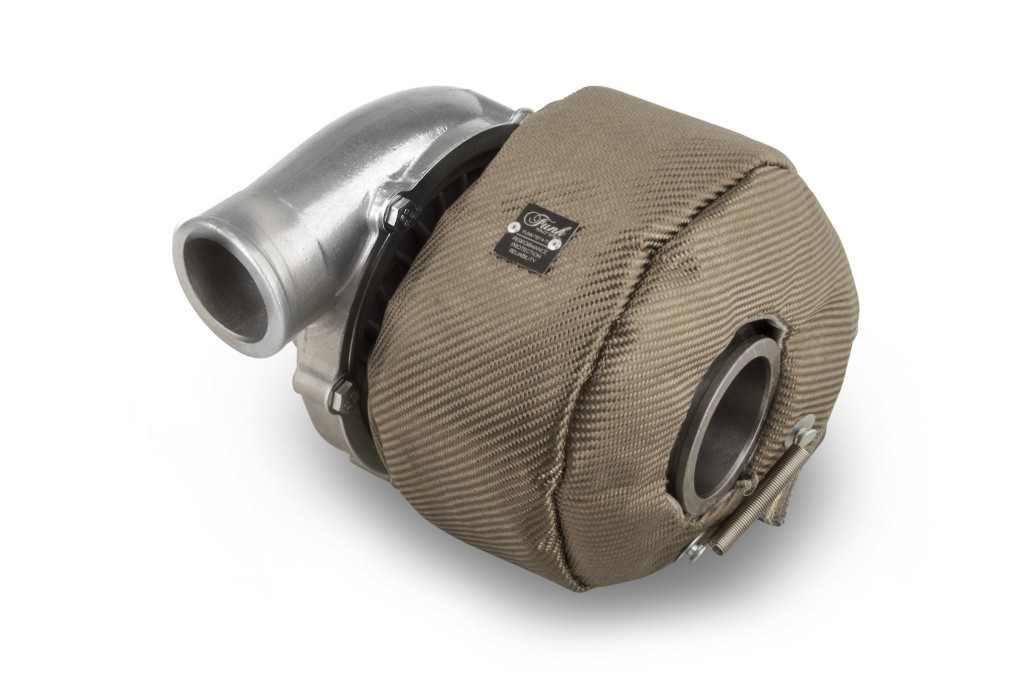 Funk Motorsport T3 Turbo Blanket Jacket - Titanium. Manufacturer product no.: FUNK-TBT3-TI