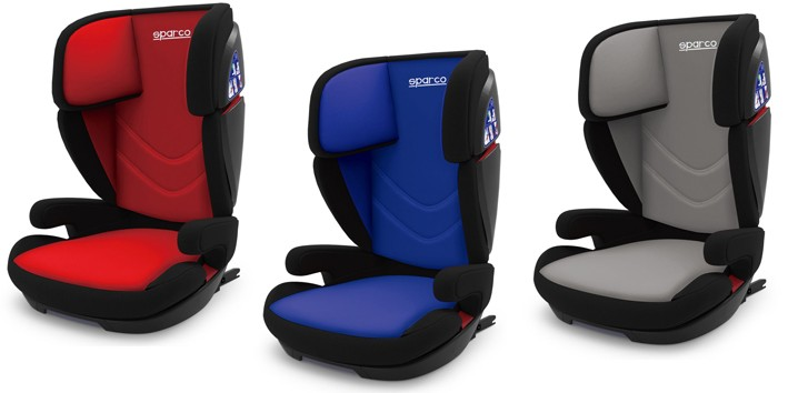 Sparco Kid Seat F700i Bsr